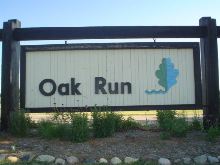 Oak Run Sign